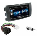 Autoradio 2-DIN Alpine Smart ForTwo de 2007 à 08/2010 - CDE-W296BT, IVE-W560BT, iLX-W650BT ou ILX-F903D AU CHOIX