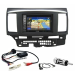 Pack autoradio GPS Mitsubishi Lancer de 2007 à 2012 - iLX-702D, iLX-F903D, INE-W990HDMI ou INE-W710D au choix