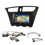 Pack autoradio GPS Honda Civic 5 portes de 2012 à 2018 - iLX-F903D, INE-W990HDMI, INE-W710D ou INE-W987D au choix