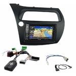 Pack autoradio GPS Honda Civic 5 portes de 2006 à 2012 - INE-W990HDMI, INE-W710D, INE-W987D ou ILX-702D au choix