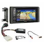 Autoradio GPS Subaru Impreza et Forester de 2007 à 2011 - iLX-702D, iLX-F903D, INE-W990HDMI ou INE-W710D au choix