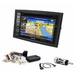 Autoradio GPS Nissan 350Z de 2006 à 2011 - iLX-702D, INE-F904D, INE-W611D ou INE-W720D au choix