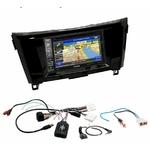 Pack autoradio GPS Nissan Qashqai et X-Trail depuis 2014 - iLX-702D, INE-F904D, INE-W611D ou INE-W720D au choix