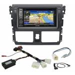 Pack autoradio GPS Toyota Yaris depuis 2013 - iLX-702D, iLX-F903D, INE-W990HDMI ou INE-W710D au choix