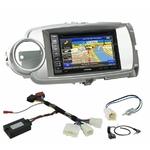 Pack autoradio GPS Toyota Yaris de 10/2011 à 07/2014 - iLX-702D, iLX-F903D, INE-W990HDMI ou INE-W710D au choix