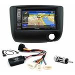Pack autoradio GPS Toyota Yaris de 2003 à 2006 - iLX-702D, iLX-F903D, INE-W990HDMI ou INE-W710D au choix