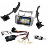 Pack autoradio GPS Toyota Yaris de 2007 à 2010 - iLX-702D, iLX-F903D, INE-W990HDMI ou INE-W710D au choix