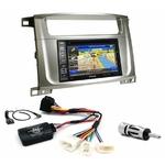 Pack autoradio GPS Toyota Land Cruiser 100 et Lexus LX-470 2003 à 2007 - iLX-702D, iLX-F903D, INE-W990HDMI ou INE-W710D au choix