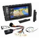 Pack autoradio GPS Toyota Hilux de 2012 à 2015 - iLX-702D, iLX-F903D, INE-W990HDMI ou INE-W710D au choix