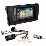 Pack autoradio GPS Toyota Avensis depuis 2009 - iLX-702D, iLX-F903D, INE-W990HDMI ou INE-W710D au choix