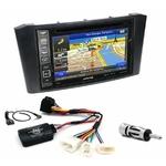 Pack autoradio GPS Toyota Avensis de 02/2003 à 2009 - iLX-702D, iLX-F903D, INE-W990HDMI ou INE-W710D au choix