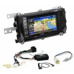Pack autoradio GPS Toyota Auris depuis 2013 - iLX-702D, iLX-F903D, INE-W990HDMI ou INE-W710D au choix