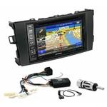 Pack autoradio GPS Toyota Auris de 2007 à 2013 - iLX-702D, iLX-F903D, INE-W990HDMI ou INE-W710D au choix