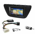 Pack autoradio GPS Suzuki SX4 S-Cross depuis 2013 - iLX-702D, iLX-F903D, INE-W611D ou INE-W720D au choix