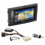 Pack autoradio GPS Ssangyong Rexton II de 2006 à 2013 - iLX-F903D, INE-W990HDMI, INE-W710D ou INE-W987D au choix