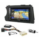 Pack autoradio GPS Ssangyong Kyron depuis 2005 & Actyon depuis 2006 - iLX-F903D, INE-W990HDMI, INE-W710D ou INE-W987D au choix