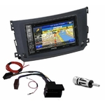Pack autoradio GPS Smart ForTwo depuis 09/2010  - iLX-702D, iLX-F903D, INE-W990HDMI ou INE-W710D au choix