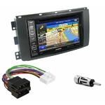 Pack autoradio GPS Smart ForTwo de 2007 à 08/2010 - iLX-702D, iLX-F903D, INE-W990HDMI ou INE-W710D au choix