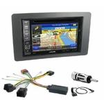 Pack autoradio GPS Saab 9.5 depuis 2005 - iLX-F903D, INE-W990HDMI, INE-W710D ou INE-W987D au choix