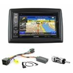 Pack autoradio GPS Renault Megane 2 de 2002 à 2009 - iLX-702D, iLX-F903D, INE-W990HDMI ou INE-W710D au choix