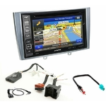 Pack autoradio GPS Peugeot 308 de 09/2007 à 2013 et 308 CC depuis 03/2009 - iLX-F903D, INE-W990HDMI, INE-W710D ou INE-W987D au choix