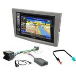 Pack autoradio GPS Opel Astra, Corsa, Zafira et Antara - iLX-702D, iLX-F903D, INE-W990HDMI ou INE-W710D au choix
