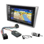 Pack autoradio GPS Opel Agila Combo Corsa Meriva Tigra Vectra Vivaro - iLX-702D, iLX-F903D, INE-W990HDMI ou INE-W710D au choix