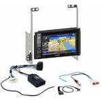 Pack autoradio GPS Nissan X-trail de 2007 à 2014 -  iLX-702D, iLX-F903D, INE-W990HDMI ou INE-W710D au choix