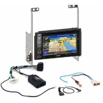 Pack autoradio GPS Nissan X-trail de 2007 à 2014 -  iLX-702D, INE-F904D, INE-W611D ou INE-W720D au choix
