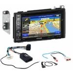 Pack autoradio GPS Nissan Qashqai de 02/2007 à 11/2013 -  iLX-702D, INE-F904D, INE-W611D ou INE-W720D au choix