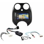 Pack autoradio GPS Nissan Micra de 2011 à 2013 -  iLX-702D, INE-F904D, INE-W611D ou INE-W720D au choix