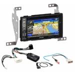 Pack autoradio GPS Nissan Juke de 10/2010 à 05/2014 iLX-702D, INE-F904D, INE-W611D ou INE-W720D au choix