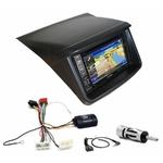 Pack autoradio GPS Mitsubishi L200 de 2006 à 2018 - INE-W990HDMI, INE-W710D, INE-W987D ou ILX-702D au choix