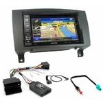 Pack autoradio GPS Mercedes SLK (R171) de 2004 à 03/2011 - iLX-702D, INE-F904D, INE-W611D ou INE-W720D au choix