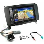 Pack autoradio GPS Mercedes CLK W209 de 2004 à 2009 - iLX-702D, INE-F904D, INE-W611D ou INE-W720D au choix