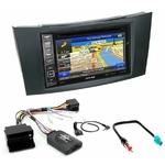 Pack autoradio GPS Mercedes Classe E W211 de 2002 à 2009 - iLX-702D, INE-F904D, INE-W611D ou INE-W720D au choix