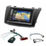 Pack autoradio GPS Mazda 3 de 2009 à 10/2013 - iLX-702D, INE-F904D, INE-W611D ou INE-W720D au choix