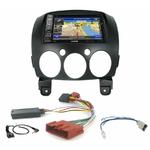 Pack autoradio GPS Mazda 2 depuis 2007 - iLX-702D, INE-F904D, INE-W611D ou INE-W720D au choix