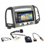 Pack autoradio GPS Hyundai Santa Fe de 2007 à 2012 (3 boutons) - INE-W990HDMI, INE-W710D, INE-W987D ou ILX-702D au choix
