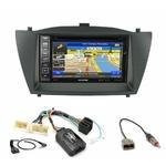 Pack autoradio GPS Hyundai IX35 de 2010 à 2013 - iLX-702D, INE-F904D, INE-W611D ou INE-W720D au choix