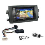 Pack autoradio GPS Fiat Sedici & Suzuki SX4 depuis 2006 - iLX-702D, iLX-F903D, INE-W611D ou INE-W720D au choix