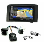 Pack autoradio GPS Fiat Idea depuis 2005 - iLX-702D, iLX-F903D, INE-W990HDMI ou INE-W710D au choix