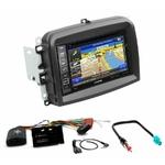 Pack autoradio GPS Fiat 500L  - iLX-702D, iLX-F903D, INE-W990HDMI ou INE-W710D au choix