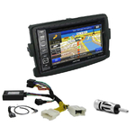 Pack autoradio GPS Dacia Duster, Dokker, Lodgy, Logan & Sandero - INE-W990HDMI, INE-W710D, INE-W987D ou ILX-702D au choix