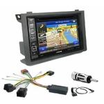 Pack autoradio GPS Saab 9.3 depuis 2006 - iLX-702D, iLX-F903D, INE-W990HDMI ou INE-W710D au choix