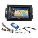 Pack autoradio GPS Jeep Commander, Compass, Grand Cherokee, Patriot & Wrangler - iLX-702D, INE-F904D, INE-W611D ou INE-W720D au choix