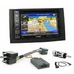 Pack autoradio GPS Skoda Fabia de 01/2003 à 12/2006 - iLX-702D, iLX-F903D, INE-W990HDMI ou INE-W710D au choix