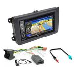 Pack autoradio GPS Skoda Fabia Roomster Octavia et Superb - iLX-702D, INE-F904D, INE-W611D ou INE-W720D au choix