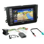 Pack autoradio GPS Skoda Fabia, Roomster, Octavia II et Rapid - iLX-702D, INE-F904D, INE-W611D ou INE-W720D au choix