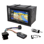 Pack autoradio GPS Volkswagen Golf 4, Lupo, Passat & Polo - INE-W990HDMI, INE-W710D, INE-W987D ou ILX-702D au choix